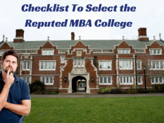 Checklist To Select the Reputed MBA College